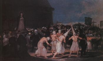 Procession of Flagellants on Good Friday