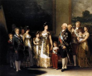 Francisco De Goya : Charles IV and his Family