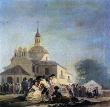 Francisco De Goya : Pilgrimage to the Church of San Isidro
