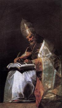 Francisco De Goya : St Gregory