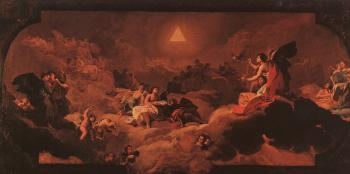 Francisco De Goya : The Adoration of the Name of The Lord II