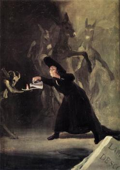 Francisco De Goya : The Bewitched Man