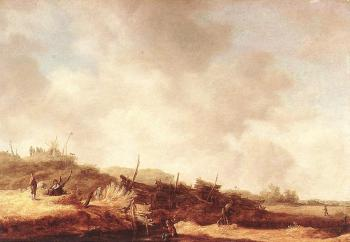 Jan Van Goyen : Landscape with Dunes