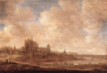Jan Van Goyen : View of Leiden
