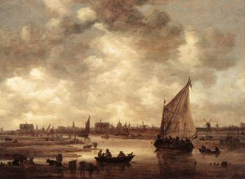 Jan Van Goyen : View of Leiden II