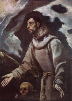 El Greco : The Ecstasy of St Francis