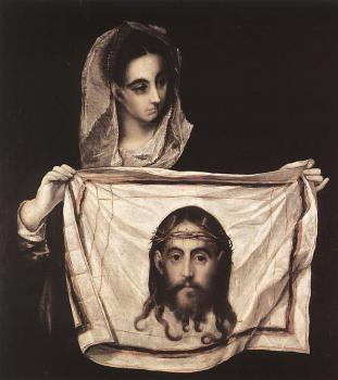 El Greco : St Veronica with the Sudary