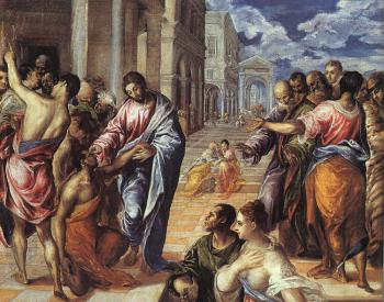 El Greco : Christ Healing the Blind