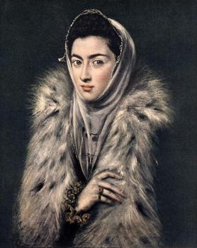 El Greco : Lady with a Fur