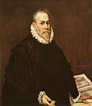El Greco : Portrait of a Doctor