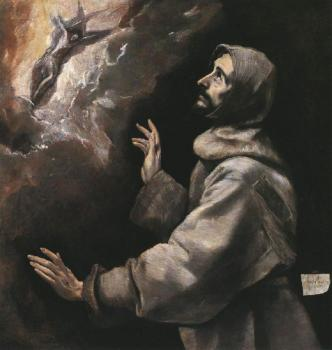 El Greco : St. Francis Receiving the Stigmata