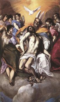 El Greco : The Holy Trinity
