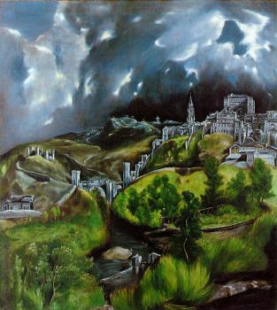 El Greco : View of Toledo