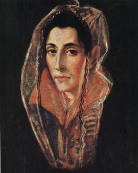 El Greco : Female Portrait