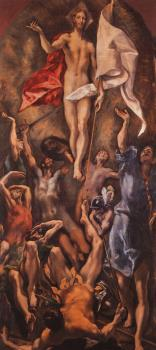 El Greco : Resurrection II