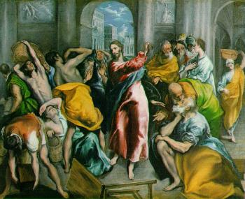 El Greco : The Purification of the Temple