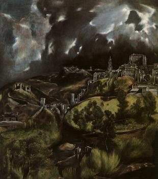 El Greco : View of Toledo II