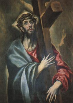 El Greco : Christ Carrying the Cross