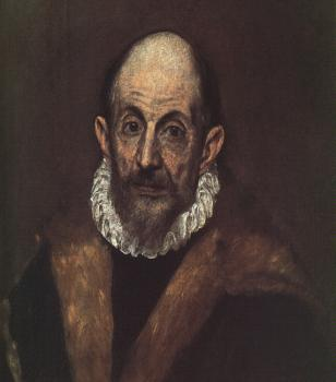 El Greco : Self Portrait