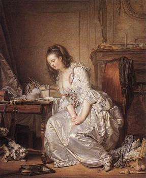 Jean-Baptiste Greuze : The Broken Mirror