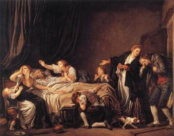 Jean-Baptiste Greuze : The Punished Son
