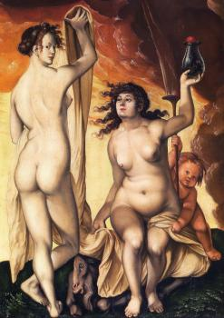 Hans Baldung Grien : Two witches