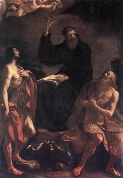 St Augustine, St John the Baptist and St Paul the Hermit