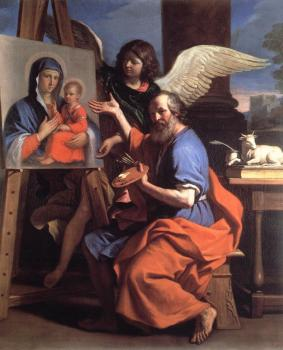 St Luke Displaying a Painting of the Virgin