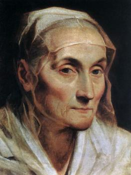 Guido Reni : Portrait of an Old Woman