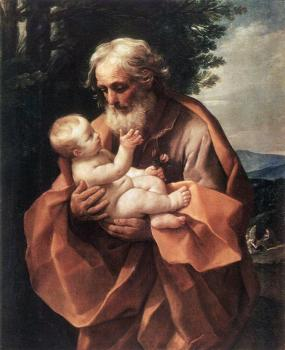 Guido Reni : St Joseph with the Infant Jesus
