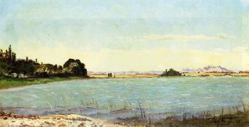 Paul-Camille Guigou : A Lake in Southern France