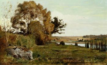 Paul-Camille Guigou : An Autumn Morning