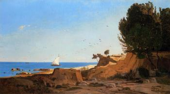 Paul-Camille Guigou : Around the Cap-Couronne near Marseille