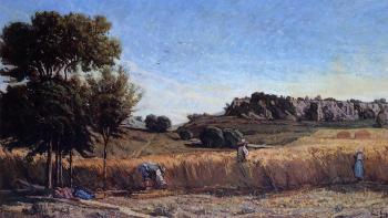 Paul-Camille Guigou : Field of Wheat