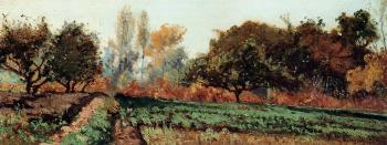 Paul-Camille Guigou : Fields and Trees, Autumn Study