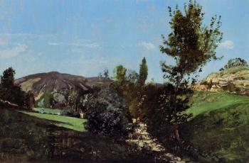 Paul-Camille Guigou : Landscape in the Durance Valley