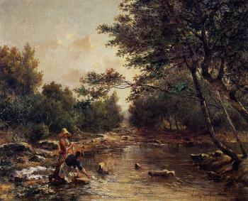 Paul-Camille Guigou : On the Banks of the River