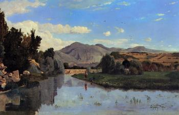 Paul-Camille Guigou : The Aiguebrun River at Lourmarin