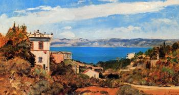 Paul-Camille Guigou : The Bay of Marseille, Saint-Henri