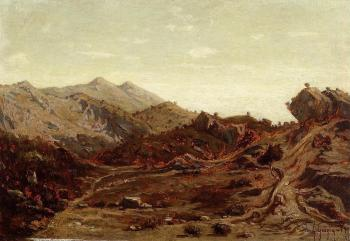 Paul-Camille Guigou : The Hills of Saint-Loup