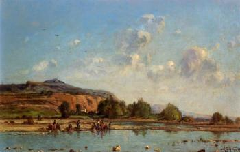 Paul-Camille Guigou : View of Luberon