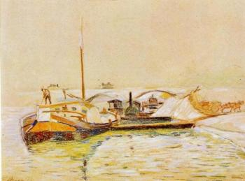 Armand Guillaumin : Barge
