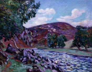 Armand Guillaumin : Crozant Landscape