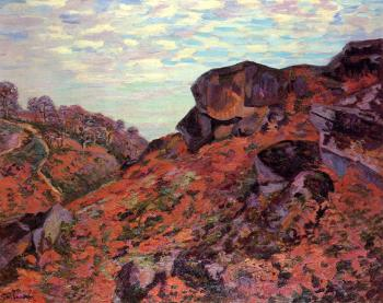 Armand Guillaumin : Crozant, the Sedelle Heights, Morning