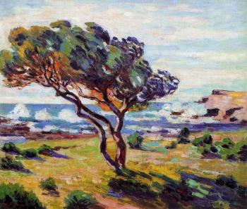 Armand Guillaumin : Gust of Wind, le Brusc