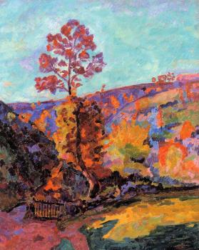 Armand Guillaumin : Landscape at Crozant