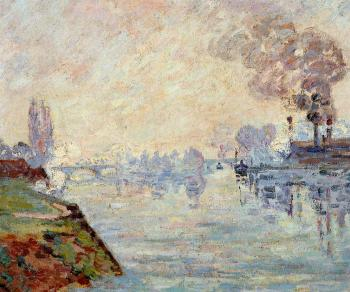 Armand Guillaumin : Landscape in the Vicinity of Rouen