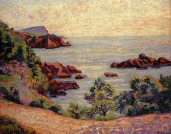 Armand Guillaumin : Midday Landscape