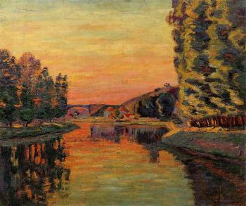 Armand Guillaumin : Moret, July