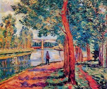 Armand Guillaumin : Moret